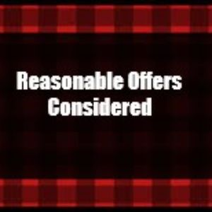 Reasonable Offers Considered